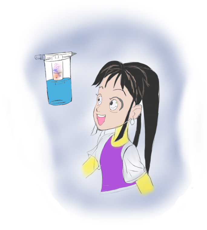 Gul Rukh and the Science of Chromatography