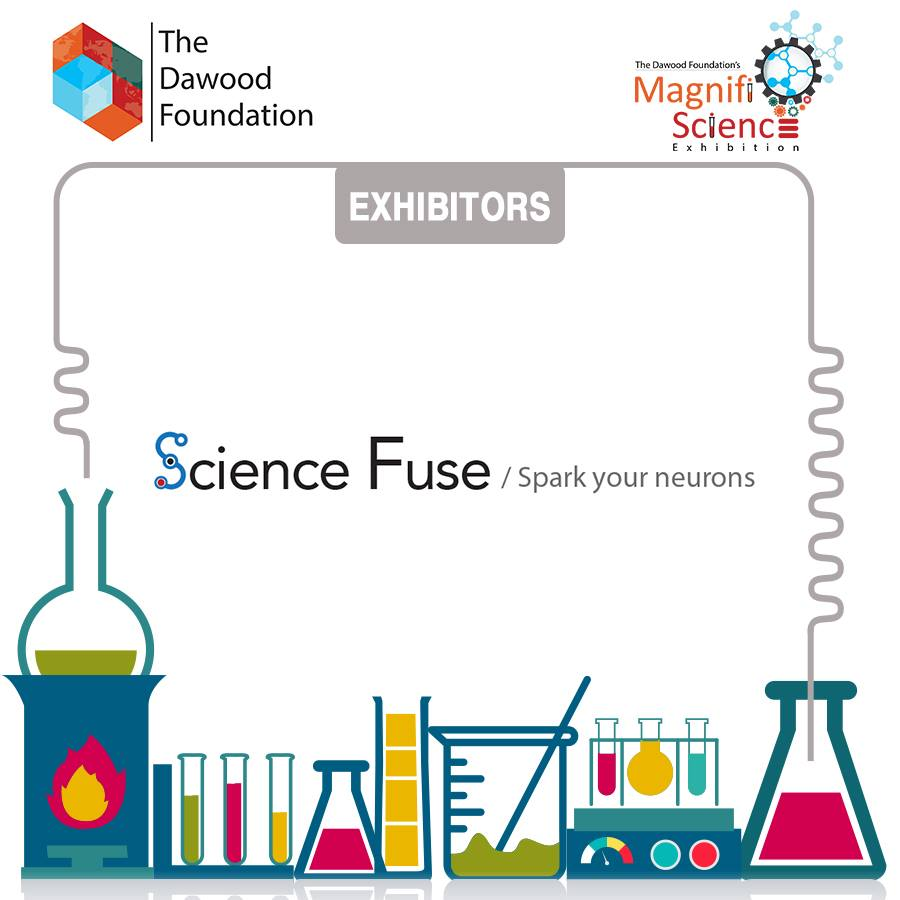 Science Fuse exhibiting at Magnifi-Science organised by The Dawood Foundation